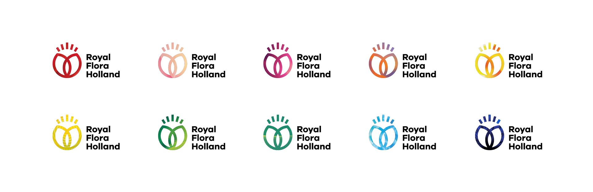 荷蘭鮮花交易網站FloraHolland品牌形象設計