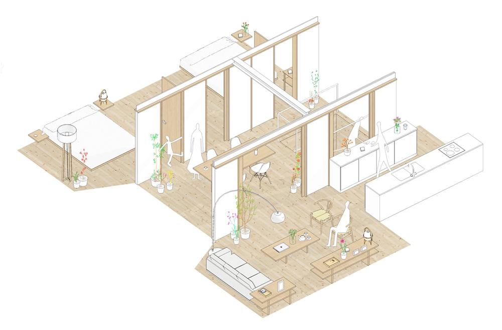 舒适自然的木质 西班牙Brava海岸住宅设计
