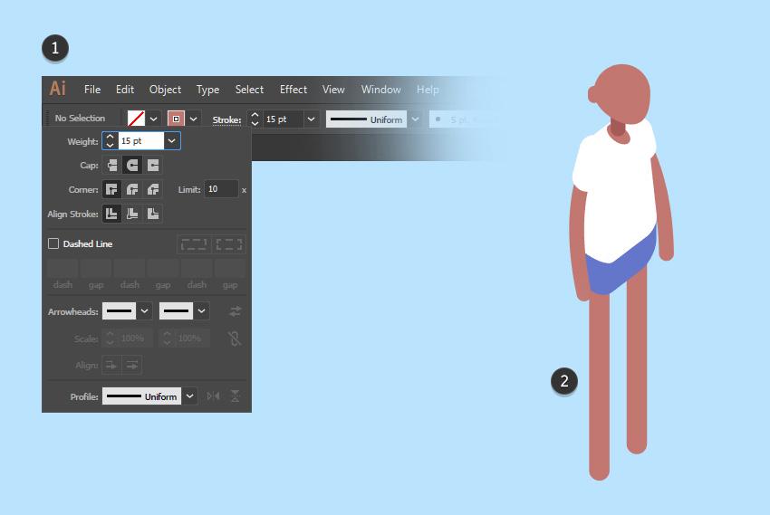 AI绘制2.5D人物插画教程