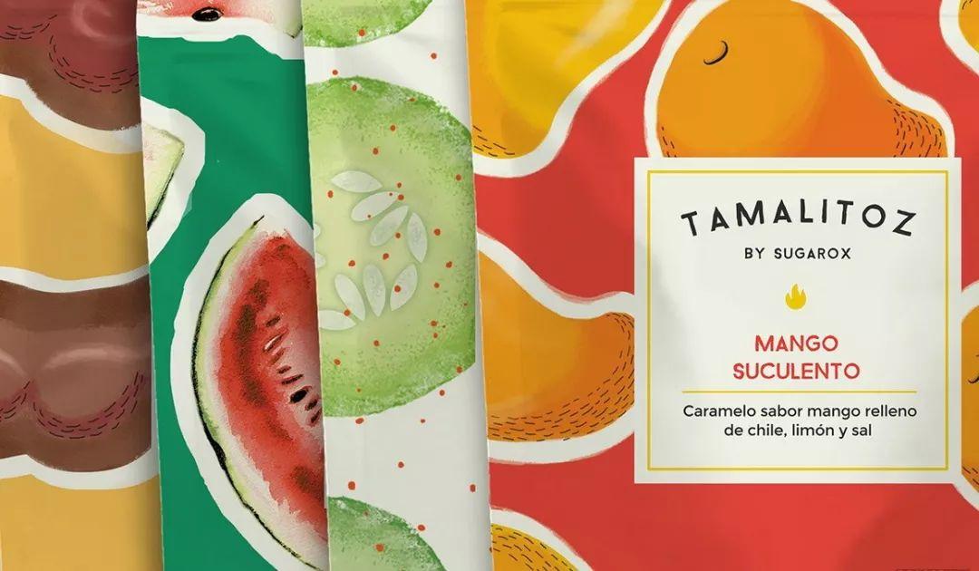 甜蜜的回味 缤纷的糖果包装设计
