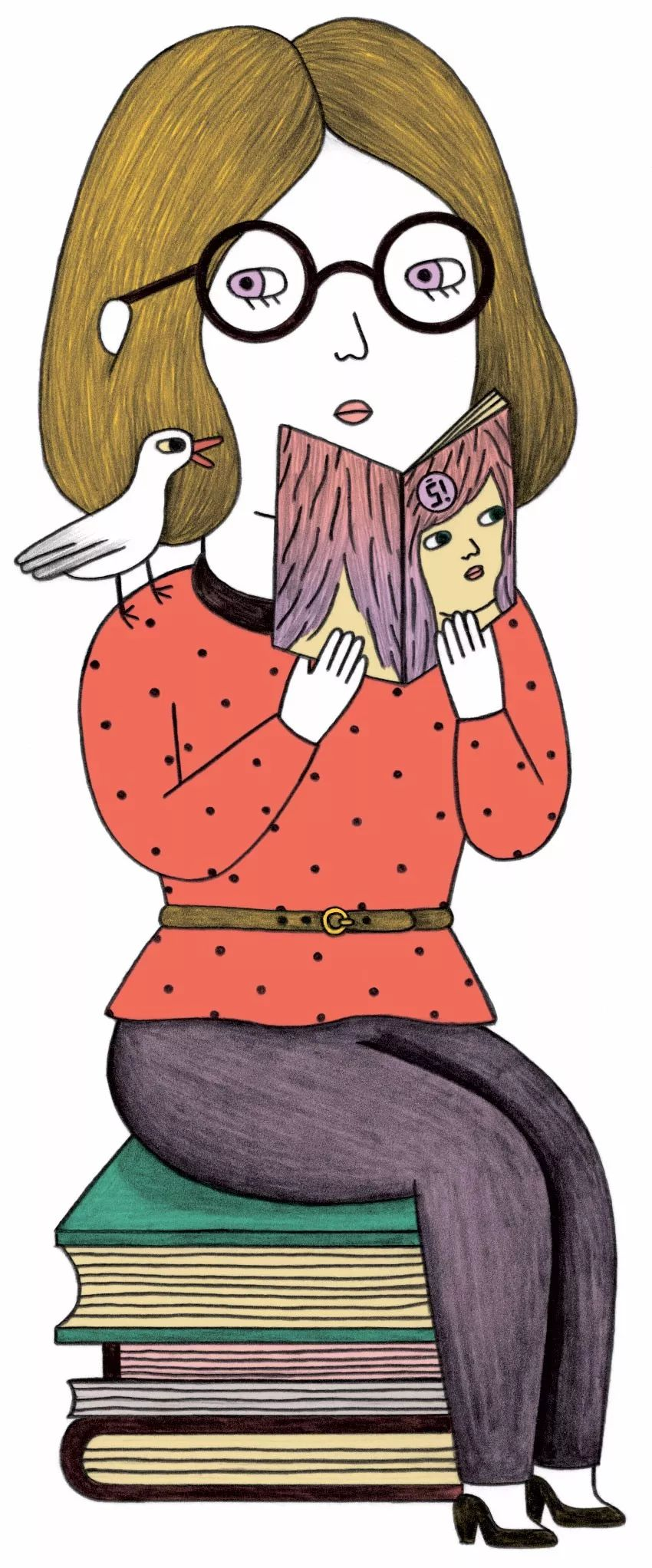 胖墩墩的小圆脸 Ana albero卡通角色人物设计