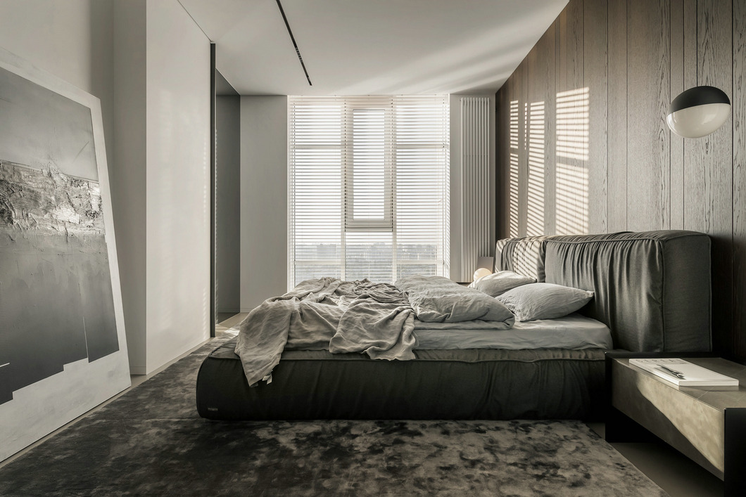 基辅简约大气的现代公寓设计