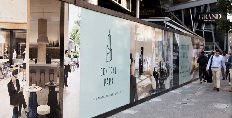 珀斯中央公园大厦品牌形象重塑