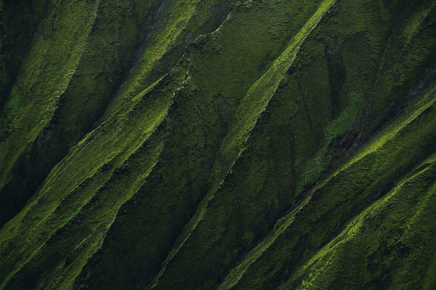 自然的艺术: Ben Simon Rehn令人惊叹的抽象风景摄影