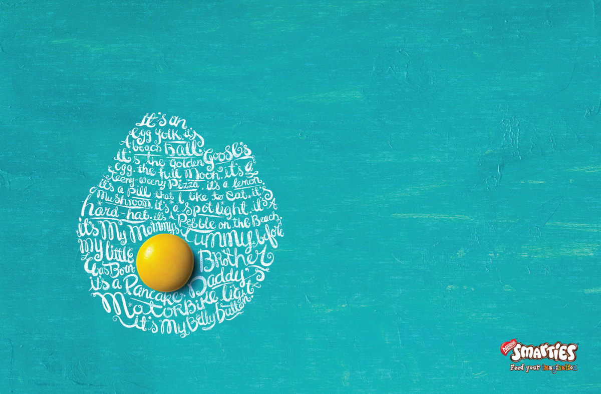创意字体灵感 20款国外平面广告欣赏
