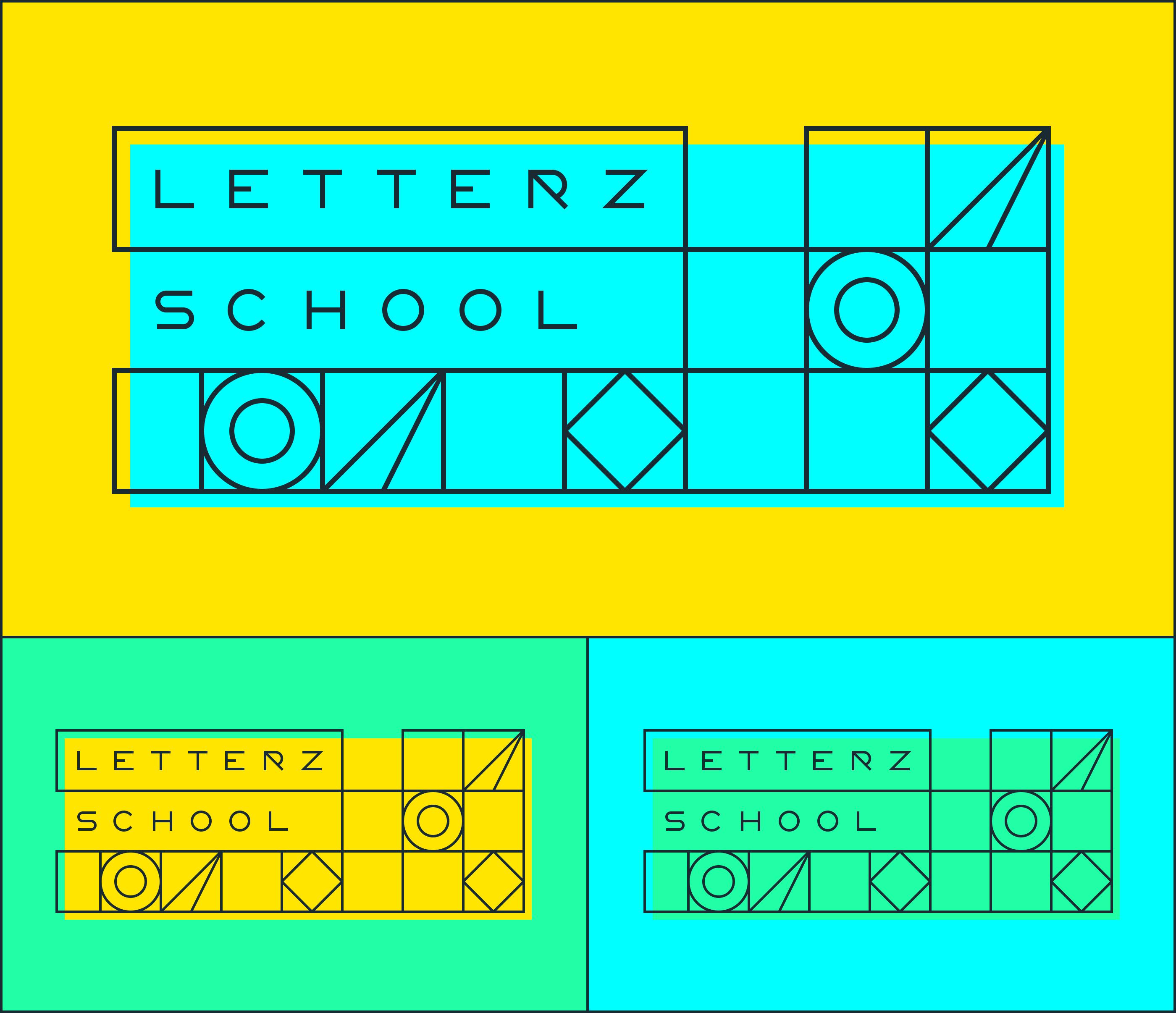 Letterz学校品牌VI设计