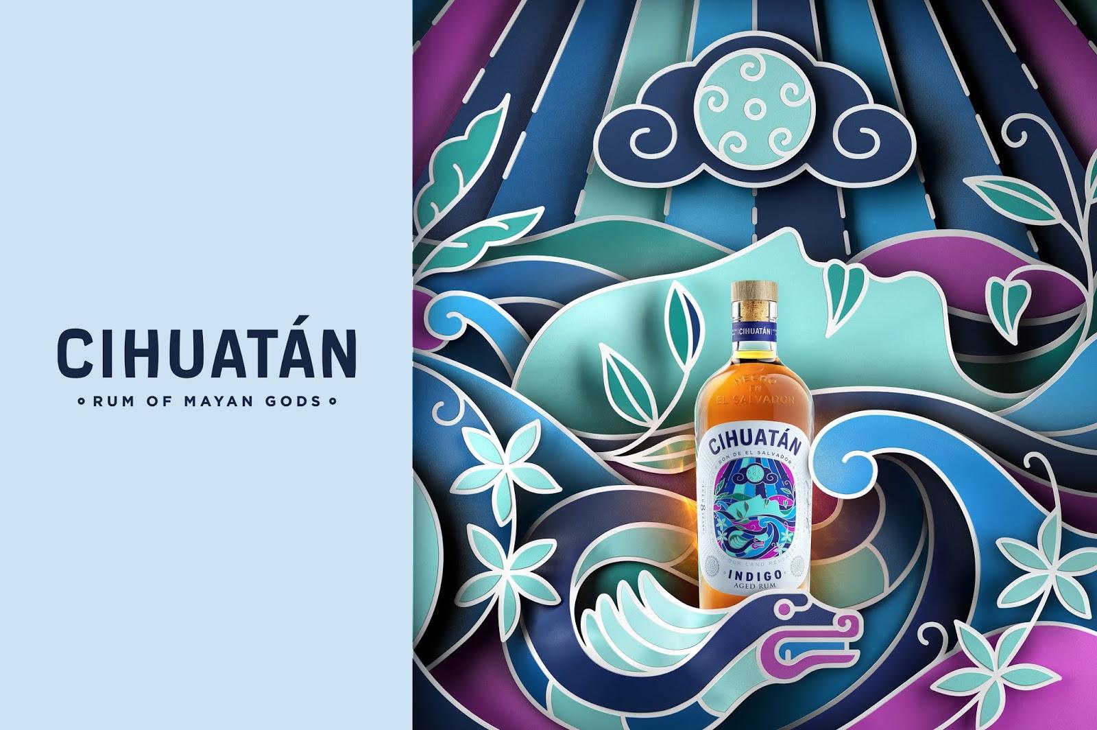 精致又高端 Cihuatán朗姆酒包装设计