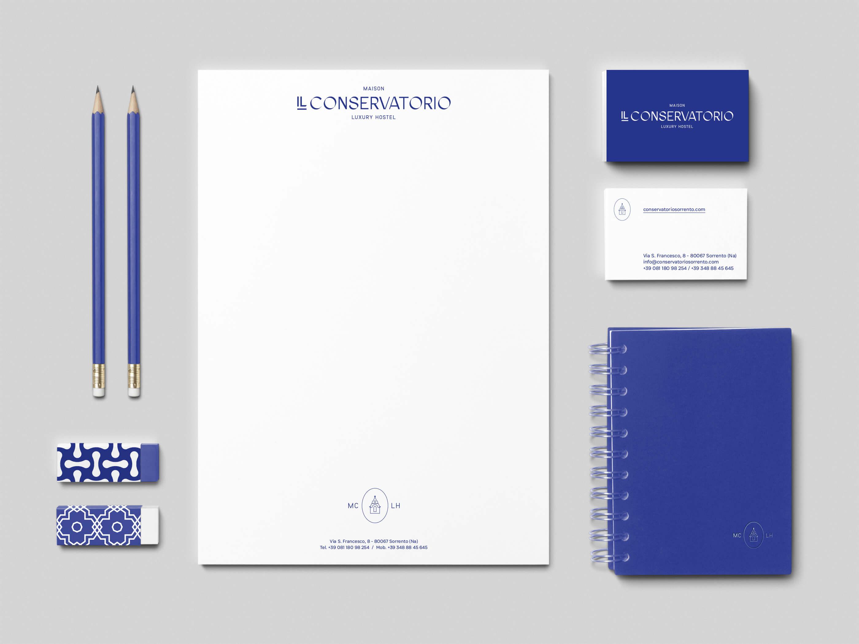 Maison Il Conservatorio精品酒店品牌形象设计