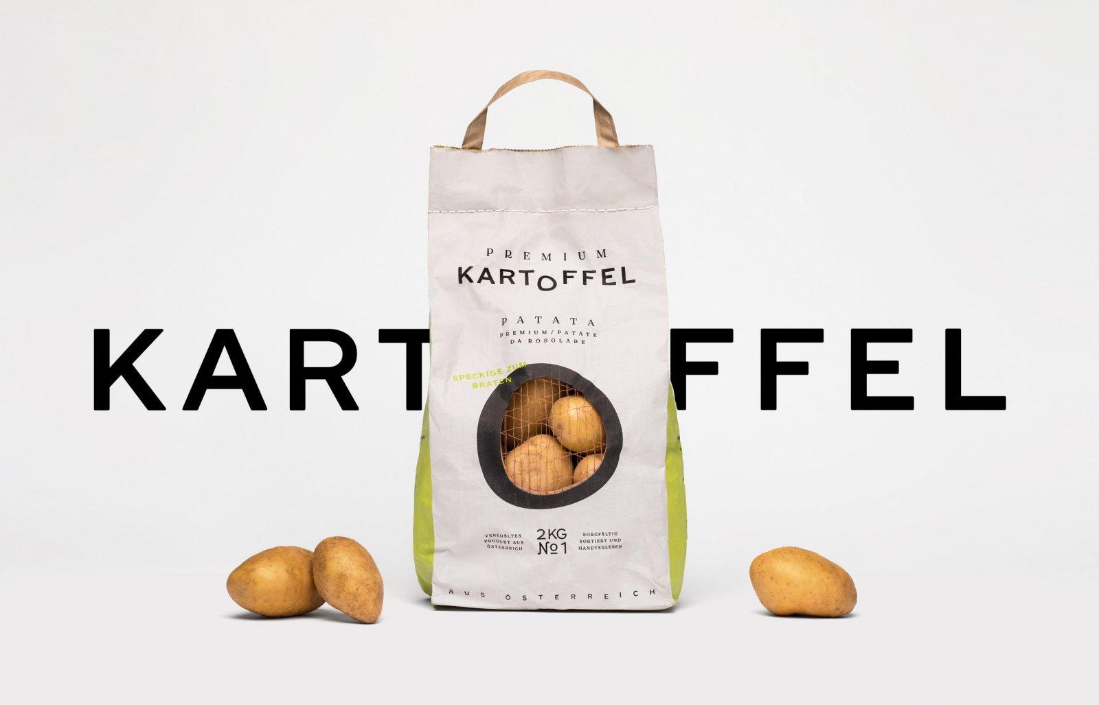 Kartoffel马铃薯包装设计