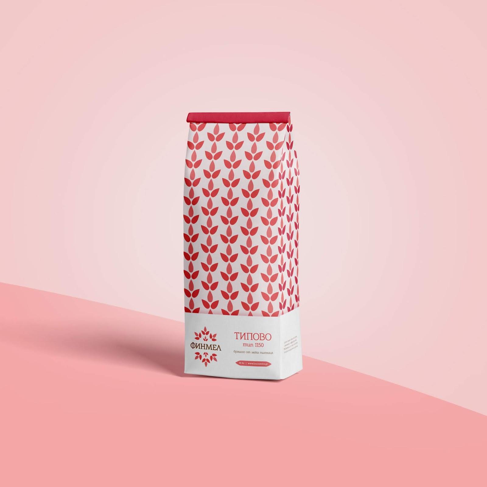 Finmel面粉概念包装设计