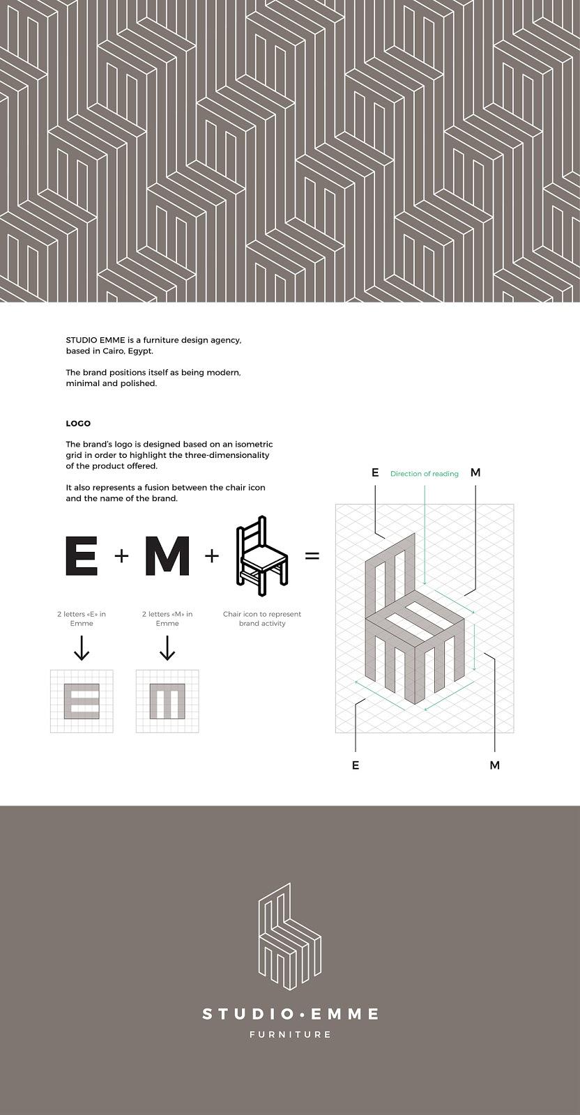 家具设计公司Studio Emme品牌形象设计