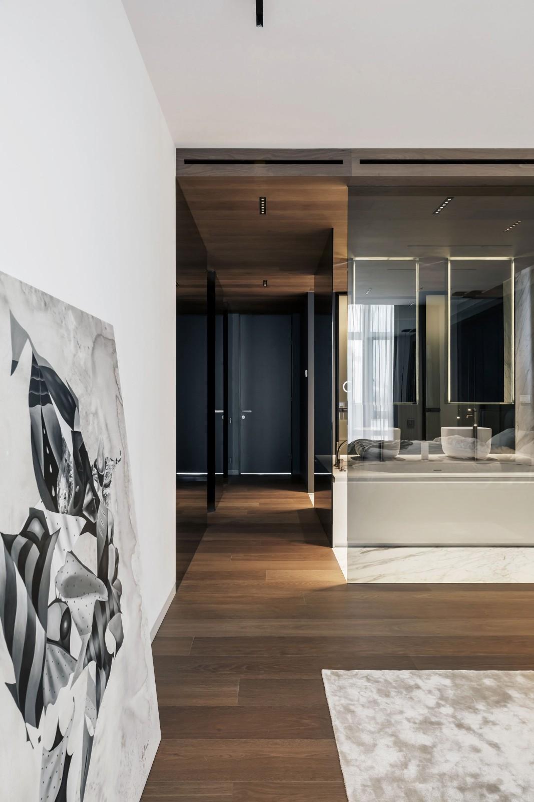 高级灰极简风公寓设计