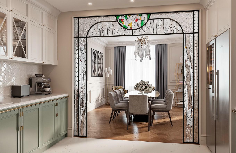 典雅的欧式风格  舒适奢华的现代家居设计