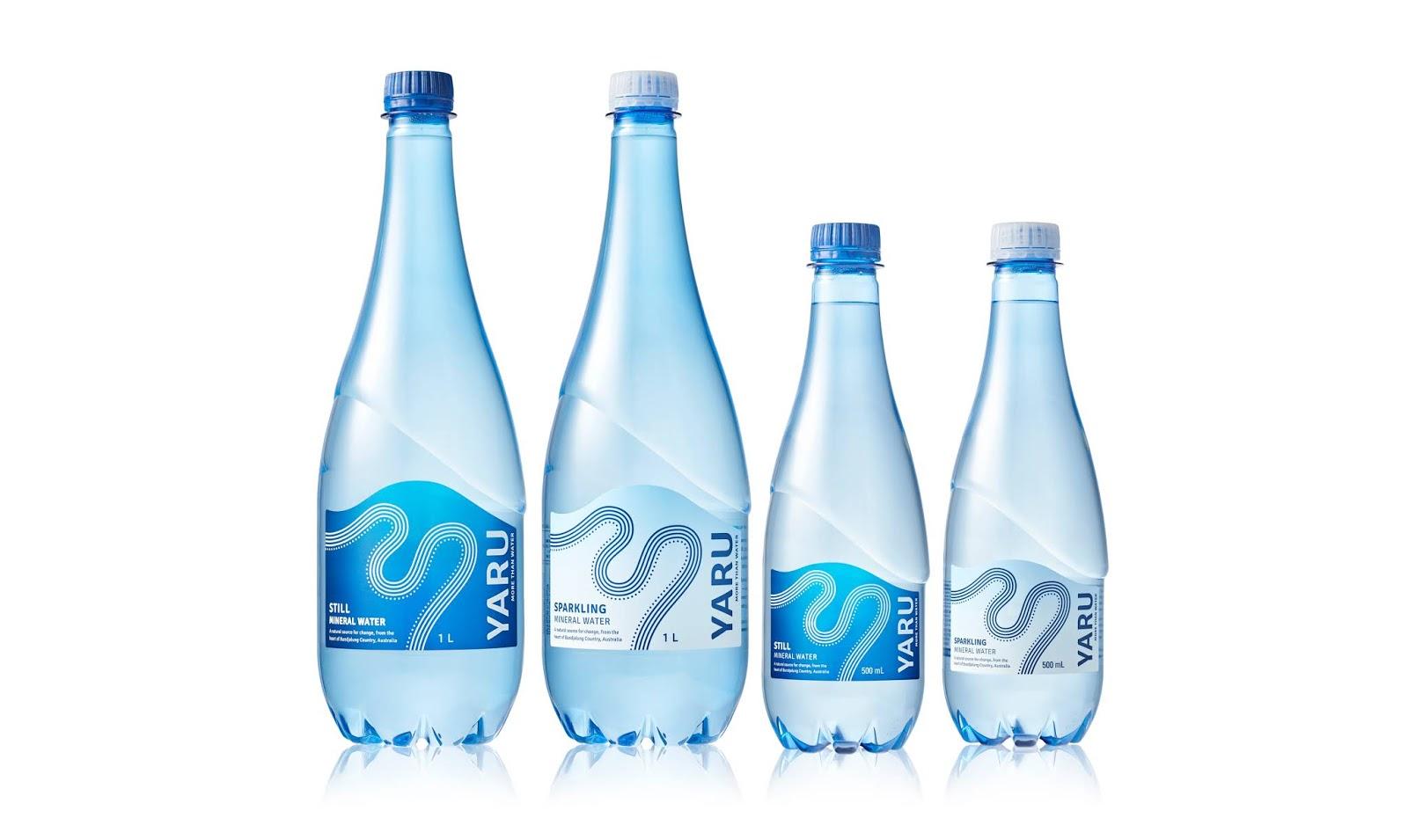 不仅仅是水 澳大利亚Yaru纯净水包装