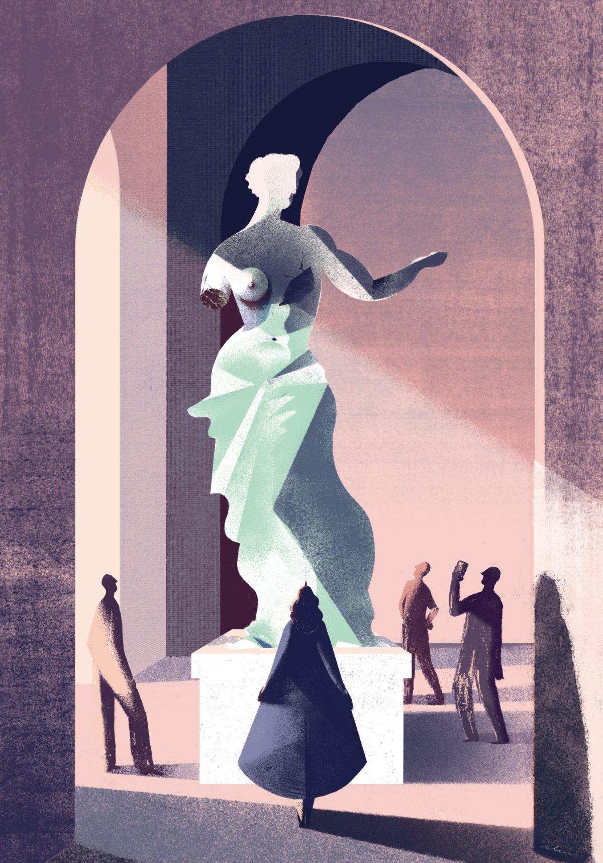 比利时Eleni Debo概念插图设计