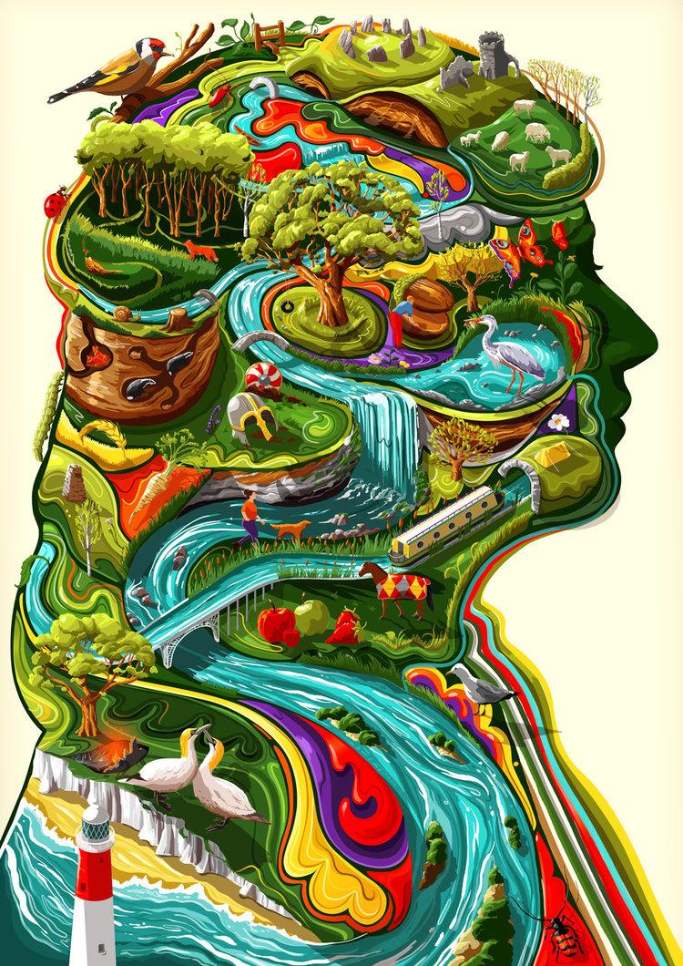Sam Falconer创意插画设计