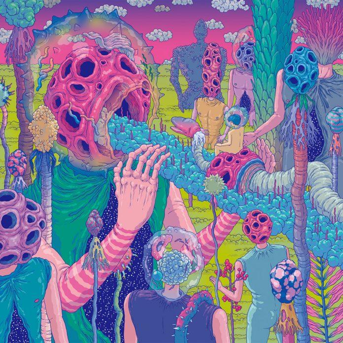 超现实景观和奇异生物 韩国插画家Bang Sangho作品欣赏