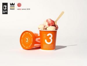 3 Kaverin冰淇淋品牌包装设计