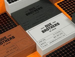 光伏安装商Due Brothers品牌VI设计