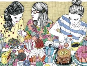AnaJarén温馨的生活插画设计