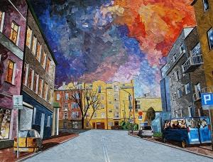 纸上的城市景观:波兰艺术家Albin Talik拼贴画