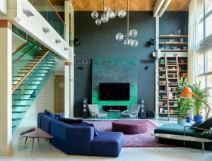 充满了色彩和现代感 夺人眼球的豪华住宅
