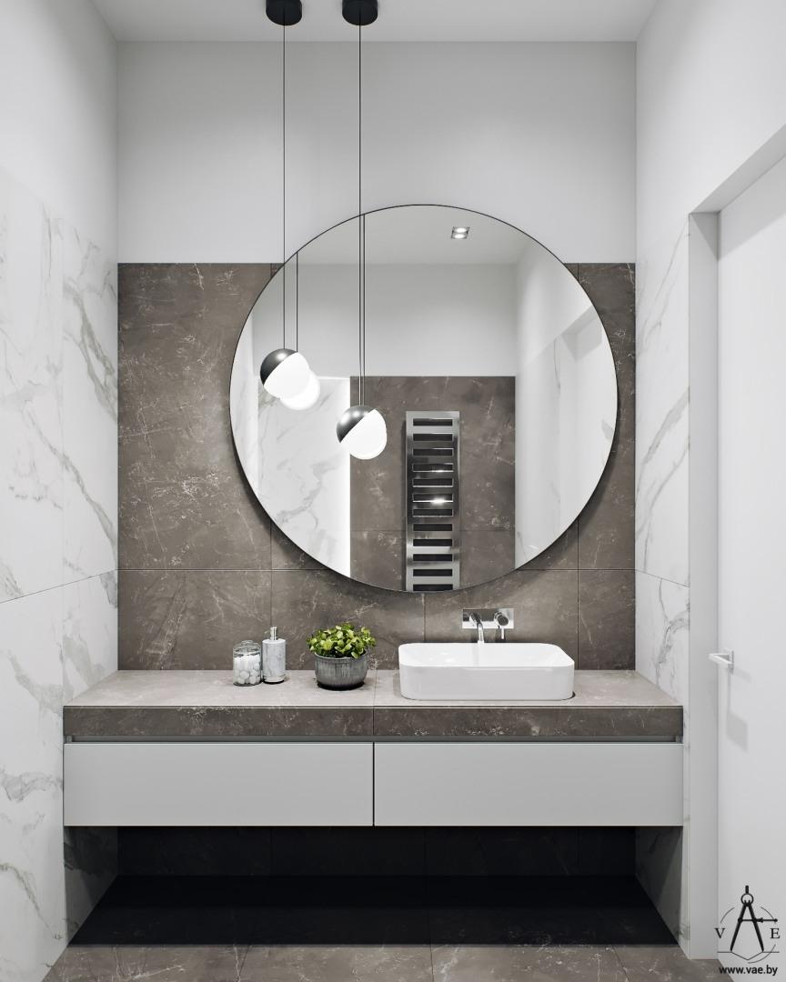 黑白灰色调的明斯克现代公寓设计