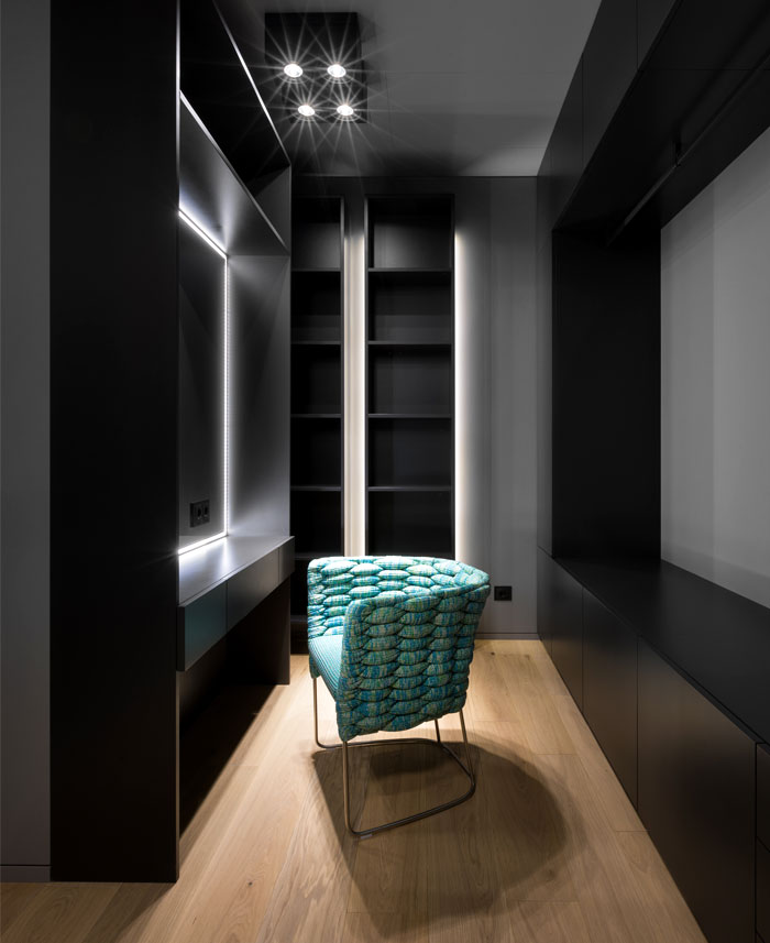 超具质感而简约的130平公寓设计