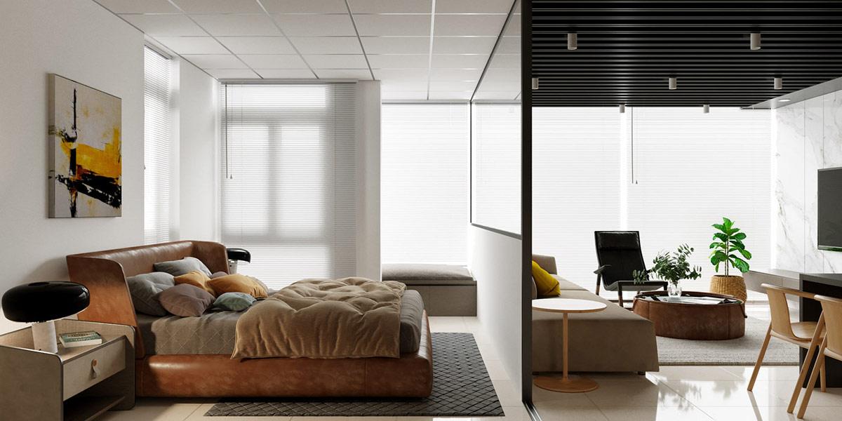 4个越南现代活力的公寓设计