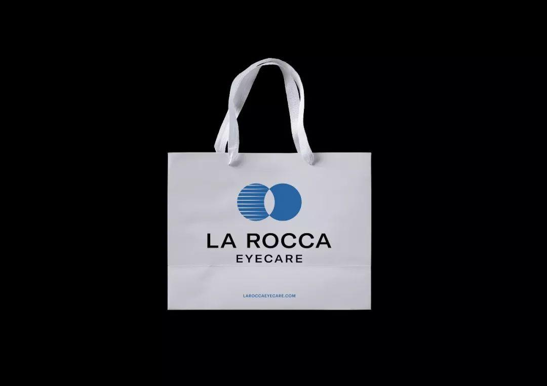 眼镜和验光品牌La Rocca视觉VI设计