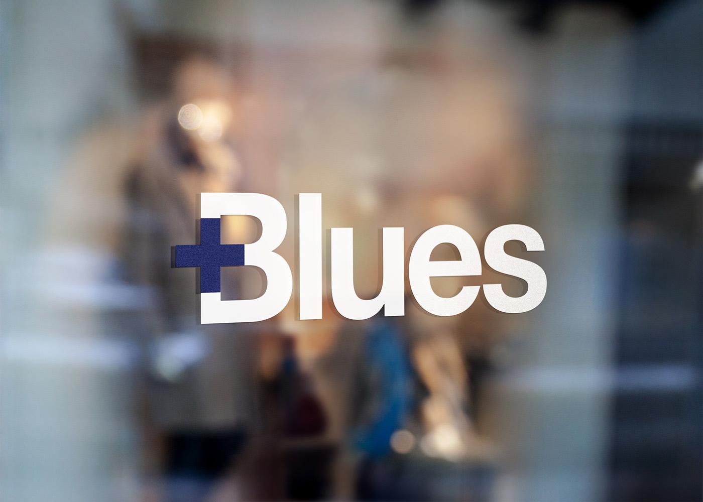 医疗品牌Blues视觉形象设计
