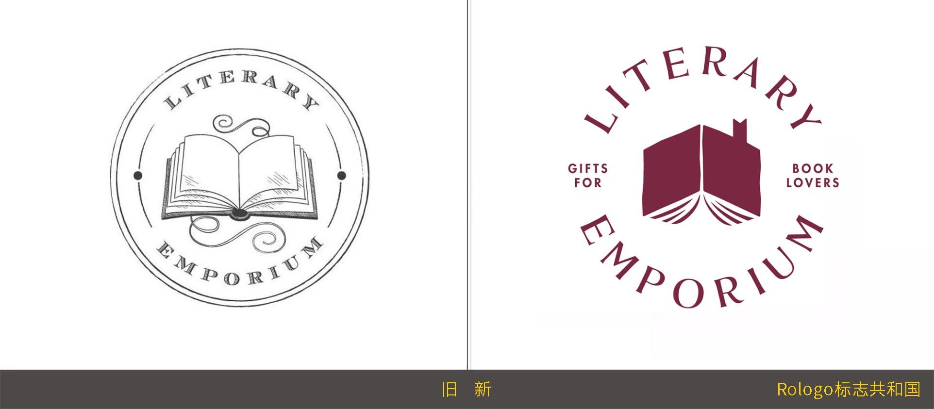 以书会友:Literary Emporium文学商城品牌形象设计