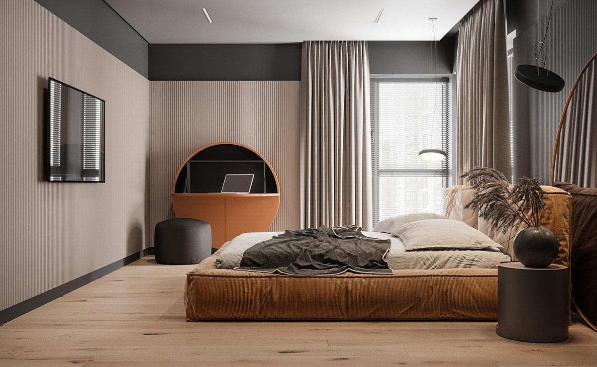 精美的设计和巧妙的布局 4间70平时尚小公寓