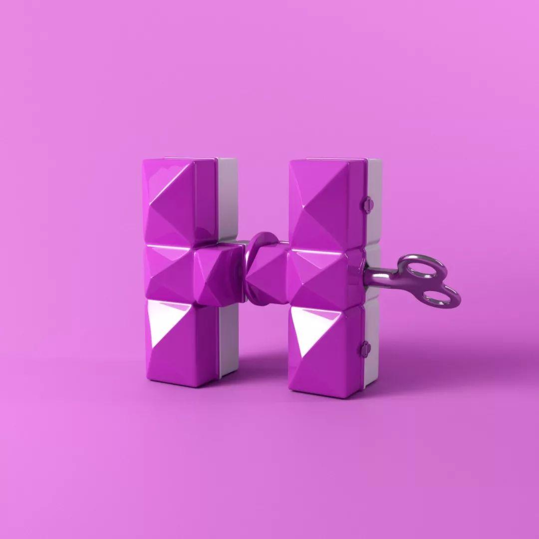 26个字母形状的发条玩具 西班牙设计师Marc Urtasun字体作品