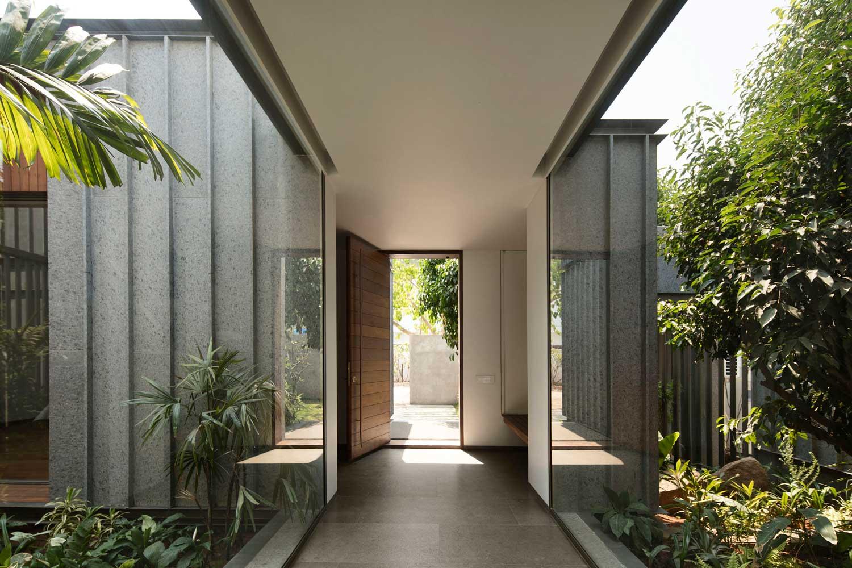 印度Lake House现代度假住宅设计