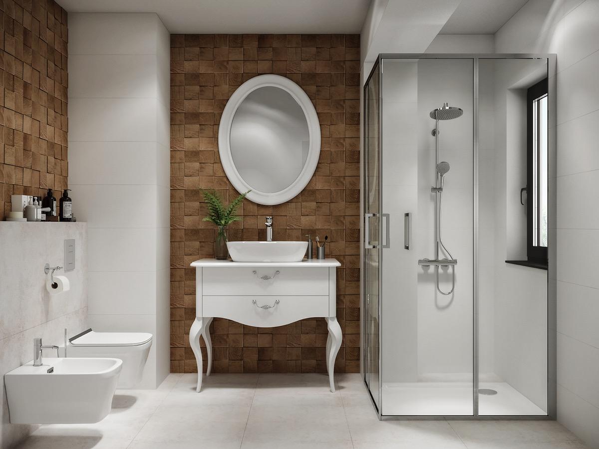 同一浴室空间 21种不同设计风格