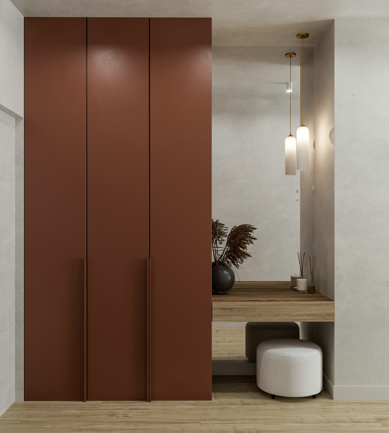 简单有质感的极简北欧风格公寓设计