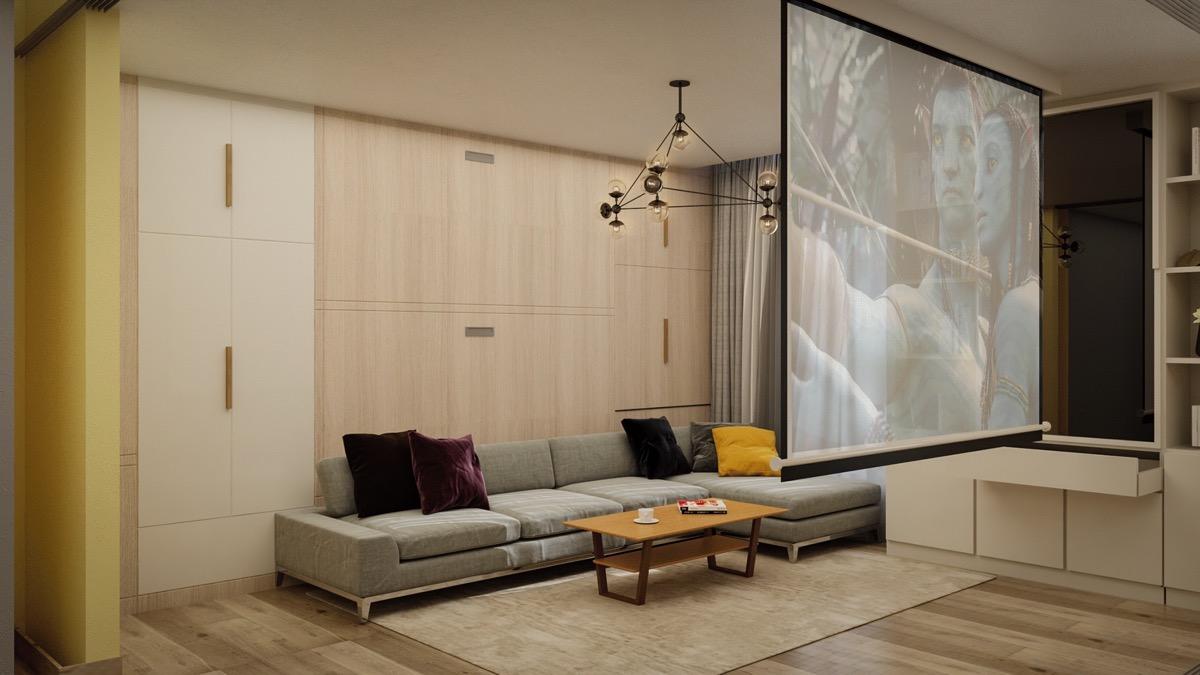 极致的空间利用 3套45平米小公寓设计