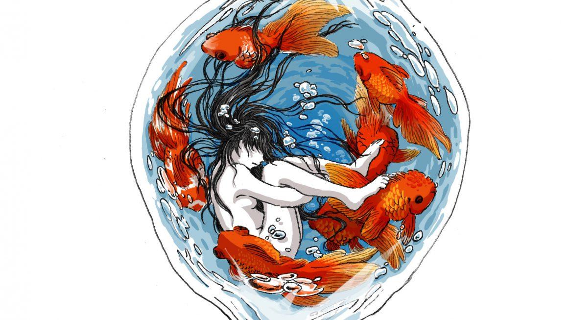 日本maruimichi超现实主义风格创意插图