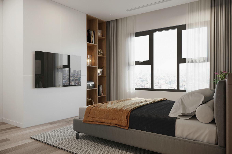 温馨舒适的现代简约小公寓设计