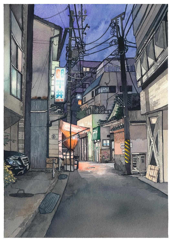 波兰画师Mateusz Urbanowicz的日系风格插画