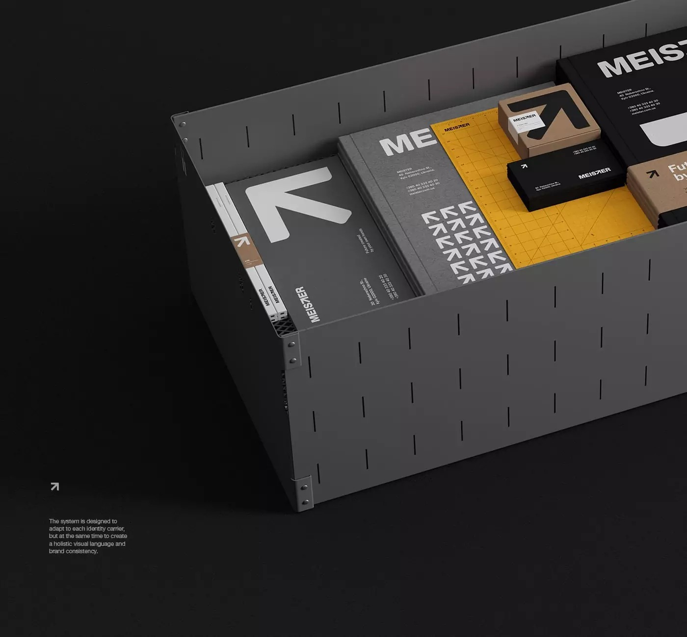 职业教育机构Meister品牌VI设计