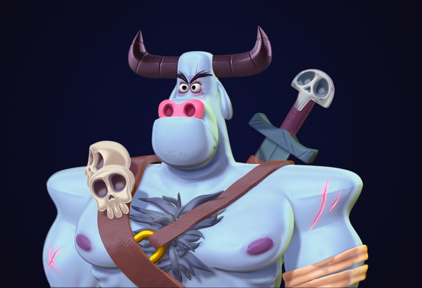 西班牙Adrián Andújar 3D角色设计作品