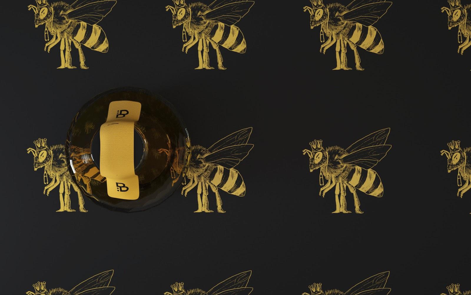 B蜂蜜概念包装设计