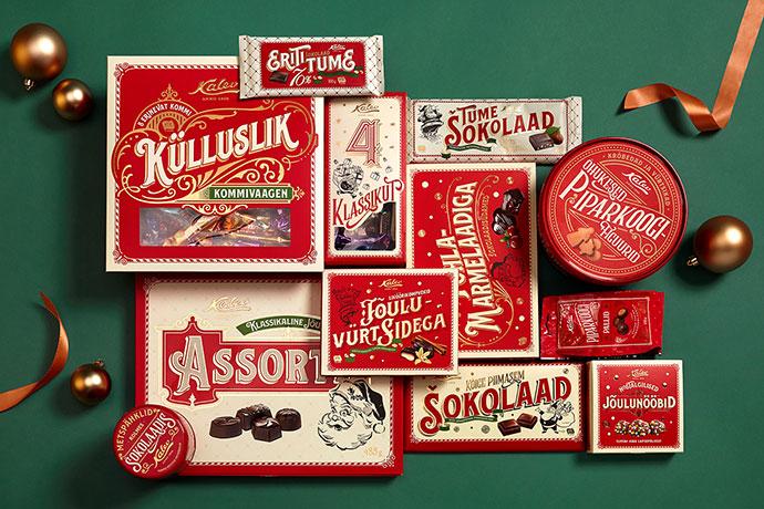 25款国外精美圣诞卡设计