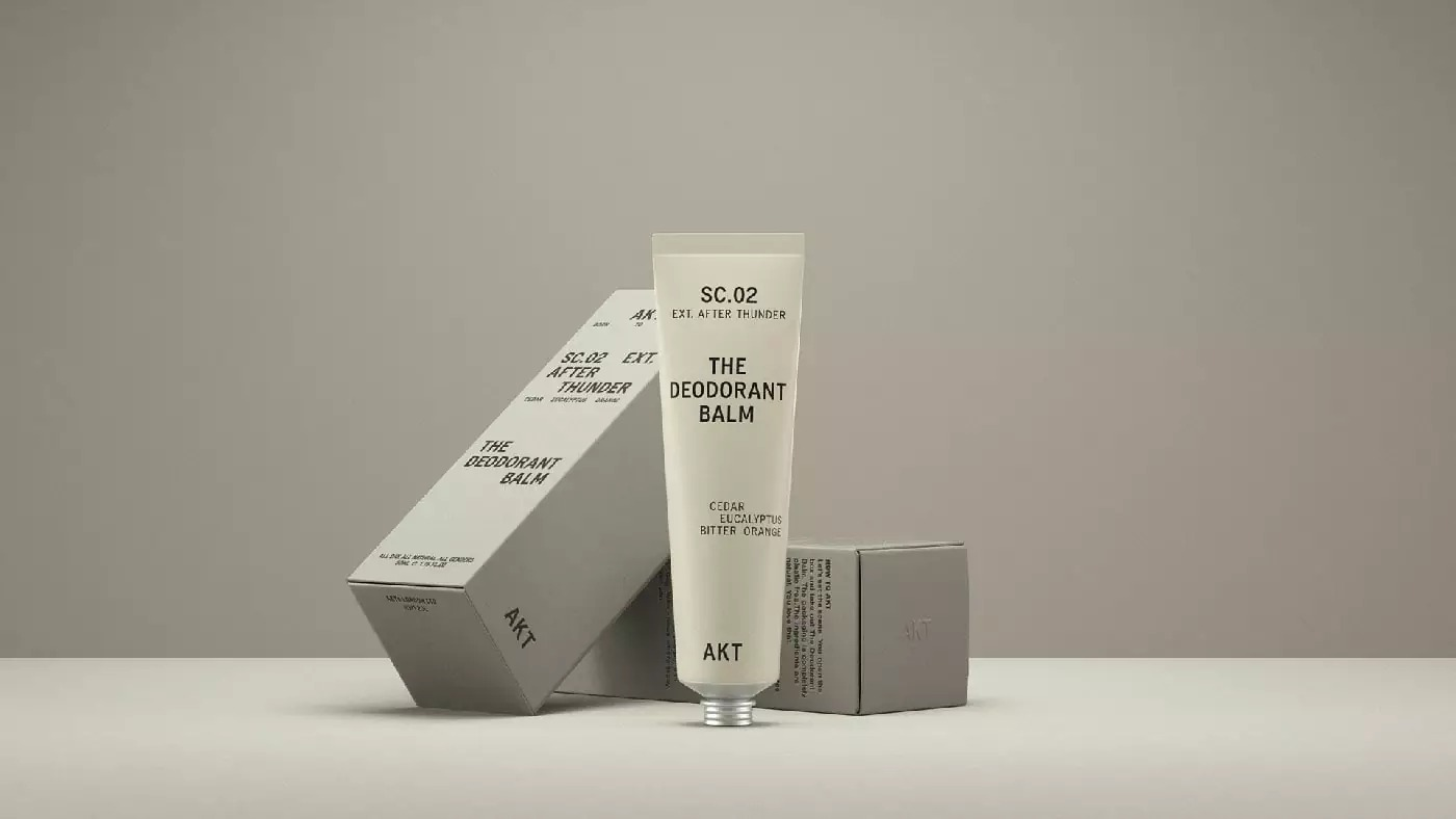 AKT香体膏包装设计
