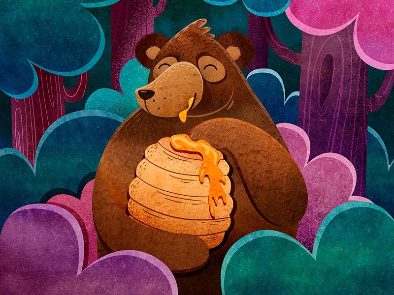 俄罗斯Anastazi Li可爱卡通动物插画作品