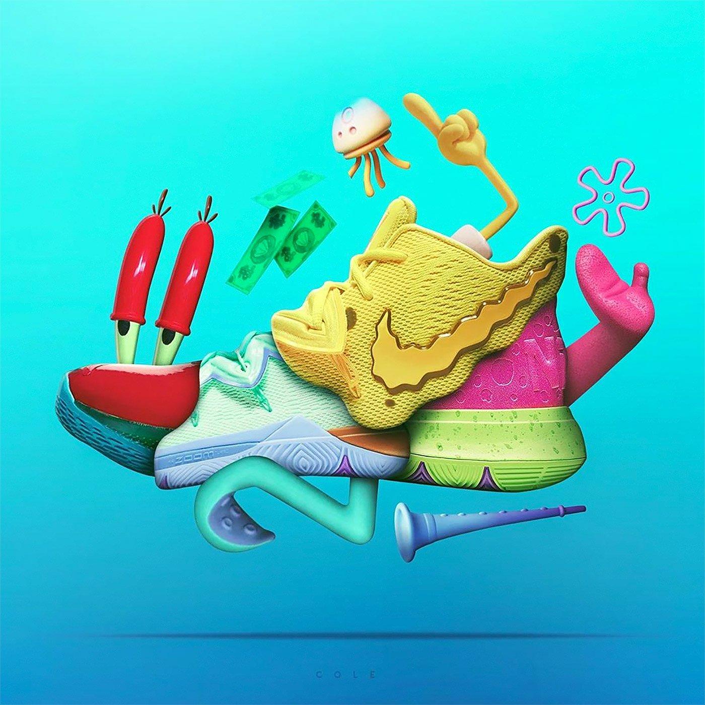 Jeff Cole球鞋设计师:流行时尚混搭的球鞋主题设计
