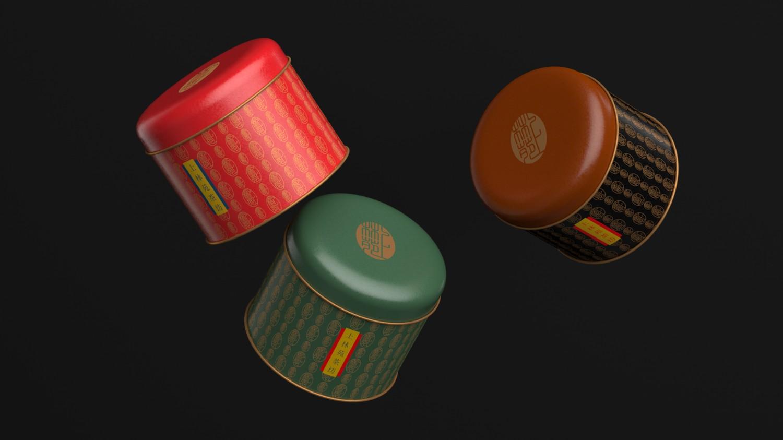 极具奢侈感的高端茶叶包装设计