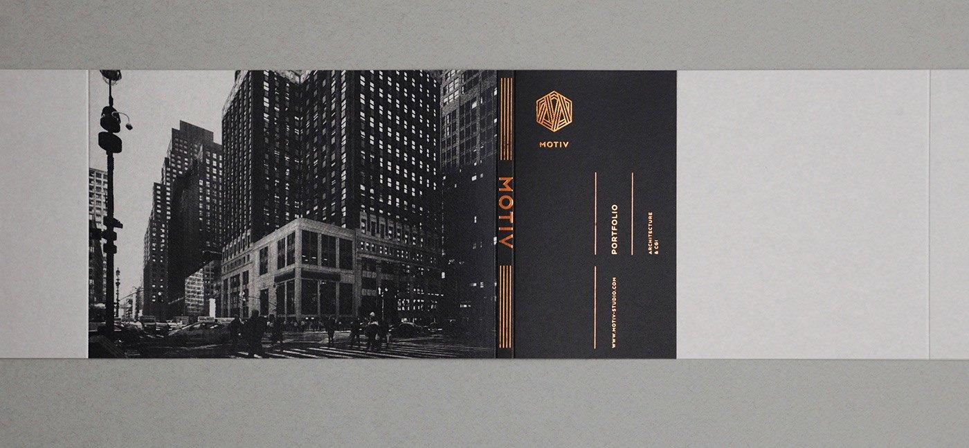MOTIV建筑工作室品牌VI设计